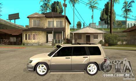Subaru Forester 1997 ano para GTA San Andreas esquerda vista