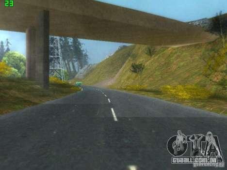 Roads Moscow para GTA San Andreas por diante tela