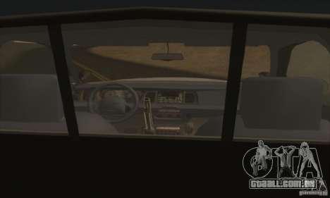 Ford Crown Victoria Illinois Police para GTA San Andreas traseira esquerda vista