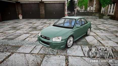 Subaru Impreza v2 para GTA 4
