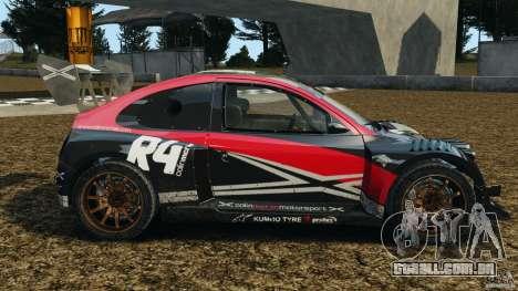 Colin McRae R4 Rallycross para GTA 4 esquerda vista