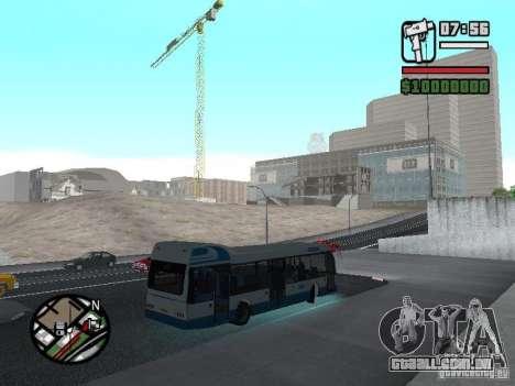 DAF para GTA San Andreas vista direita