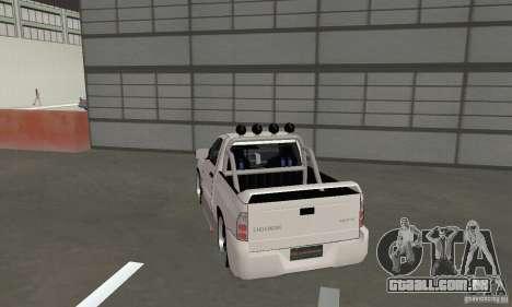 Dodge Ram SRT-10 Tuning para GTA San Andreas esquerda vista