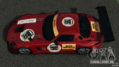 Mercedes-Benz SLS AMG GT3 2011 v1.0 para GTA 4 vista direita