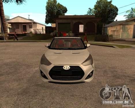Hyundai Veloster 2012 para GTA San Andreas vista direita