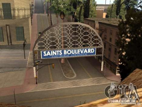 Um novo estádio em Los Santos para GTA San Andreas segunda tela