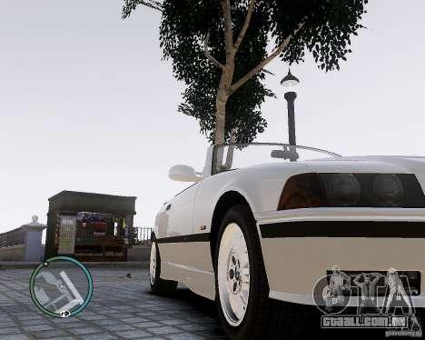 BMW M3 e36 1997 Cabriolet para GTA 4 vista direita