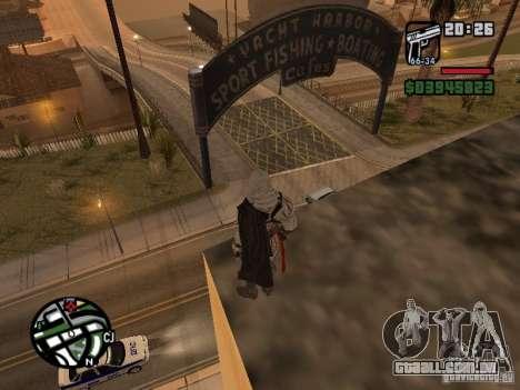 Ezio auditore de Firenze para GTA San Andreas segunda tela