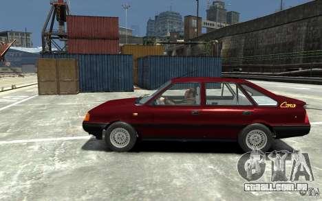 FSO Polonez Caro 1.4 16V para GTA 4 esquerda vista