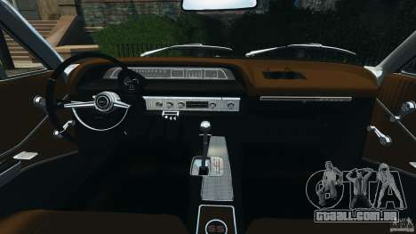 Chevrolet Impala SS 1964 para GTA 4 vista de volta