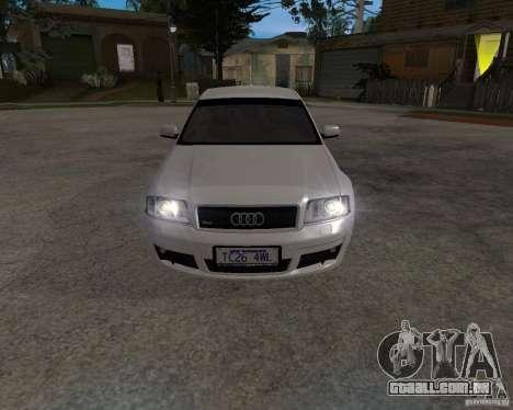 Audi RS6 (A6) para GTA San Andreas