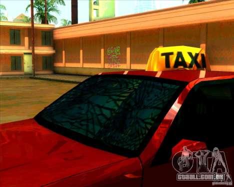 Vidro e novas luzes para GTA San Andreas segunda tela