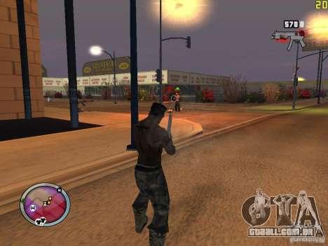 Nova zona GANGSTER para GTA San Andreas décima primeira imagem de tela