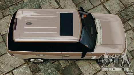 Range Rover Supercharged 2008 para GTA 4 vista direita
