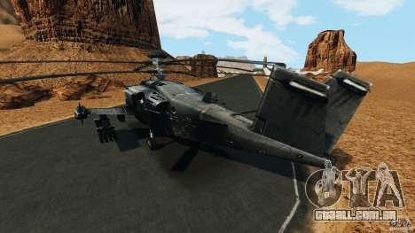 KA-50 Black Shark Modified para GTA 4 traseira esquerda vista