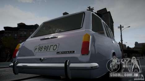 VAZ 2102 para GTA 4 vista lateral