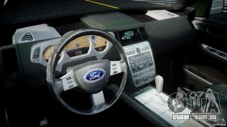 Ford Escape 2011 Hybrid Civilian Version v1.0 para GTA 4 vista direita