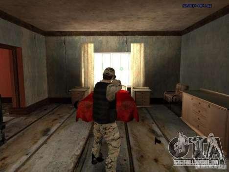 Army Soldier Skin para GTA San Andreas por diante tela