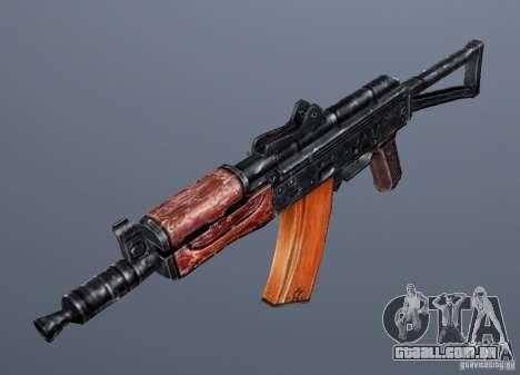 AKS74U para GTA San Andreas