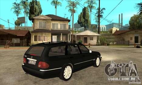 Mercedes-Benz W210 E320 1997 para GTA San Andreas vista direita