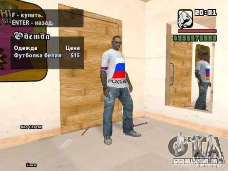 Futebol na Rússia para GTA San Andreas