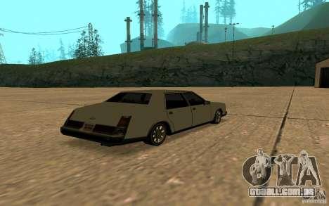 FBI Washington para GTA San Andreas vista traseira