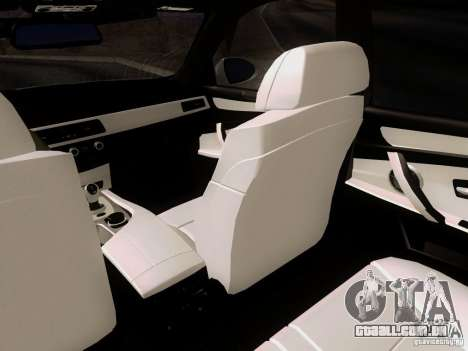 BMW M5 E60 2009 para GTA San Andreas vista traseira