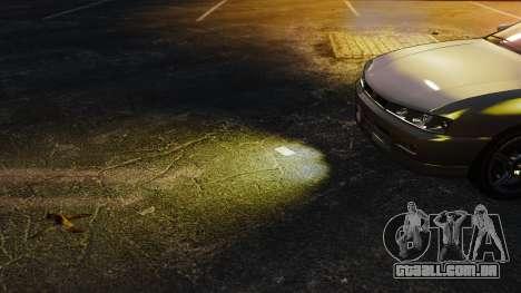 Luzes de luz amarelas para GTA 4