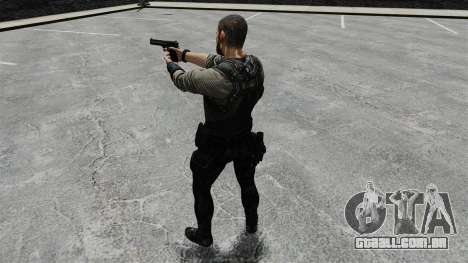 Sam Fisher v8 para GTA 4 quinto tela