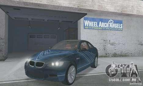 BMW M3 E92 Stock para GTA San Andreas