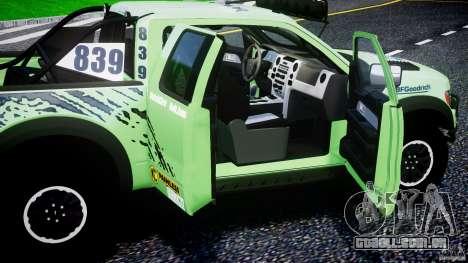 Ford F150 Racing Raptor XT 2011 para GTA 4