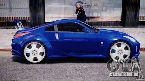 Nissan 350Z Veilside Tuning para GTA 4 interior