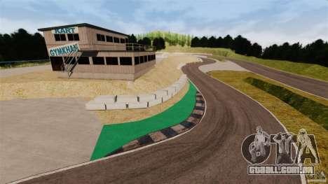 Ebisu Circuit para GTA 4 por diante tela