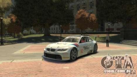 BMW M3 Gt2 para GTA 4 esquerda vista