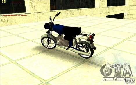 Ciclomotor: para GTA San Andreas vista direita