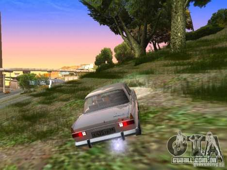AZLK-412 para GTA San Andreas vista direita