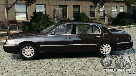 Lincoln Town Car 2006 v1.0 para GTA 4 esquerda vista