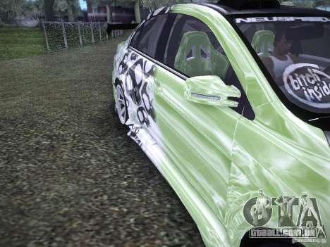 Mitsubishi Lancer Evolution X - Tuning para GTA San Andreas vista interior
