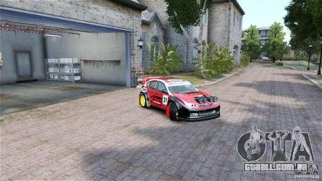 Subaru Impreza WRX STI RALLYCROSS Eibach Springs para GTA 4 vista direita