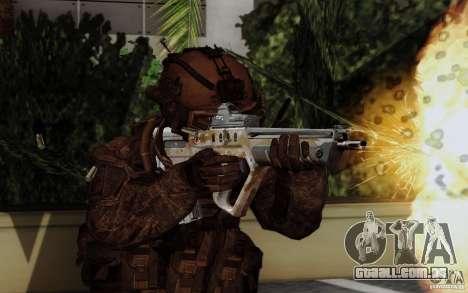 Tavor Tar-21 Steeldigital para GTA San Andreas segunda tela