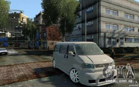 Volkswagen Transporter T4 para GTA 4 vista direita