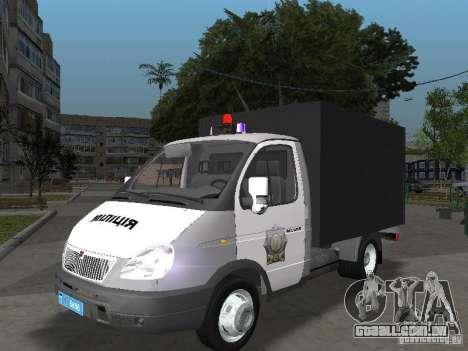 GAZ 3302 polícia para GTA San Andreas