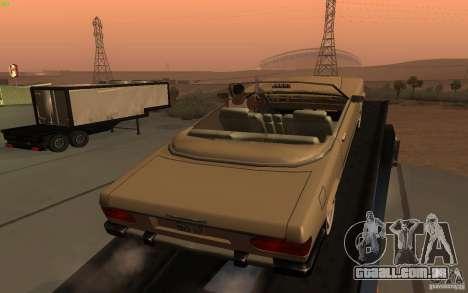New Feltzer para GTA San Andreas traseira esquerda vista