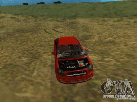 Toyota Avensis TRD Tuning para GTA San Andreas vista superior