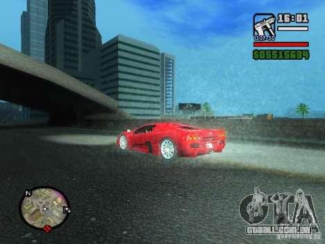 SSC Ultimate Aero para GTA San Andreas traseira esquerda vista