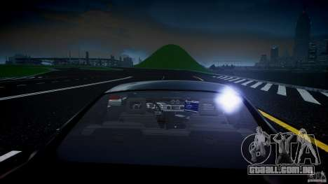 Saleen S281 Extreme Unmarked Police Car - v1.2 para GTA 4 interior