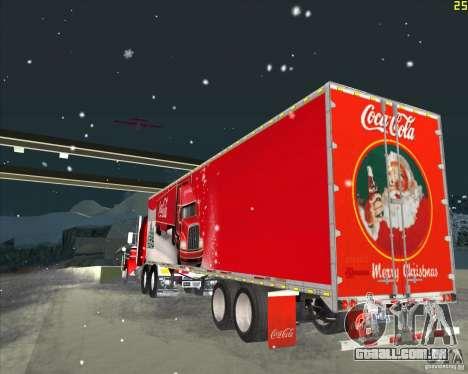 O trailer para o Trailer de Coca-Cola para GTA San Andreas traseira esquerda vista