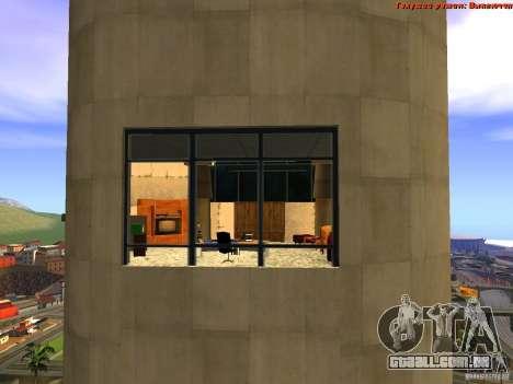 20th floor Mod V2 (Real Office) para GTA San Andreas oitavo tela