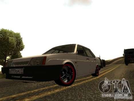 VAZ 21099 v. 2 para GTA San Andreas esquerda vista