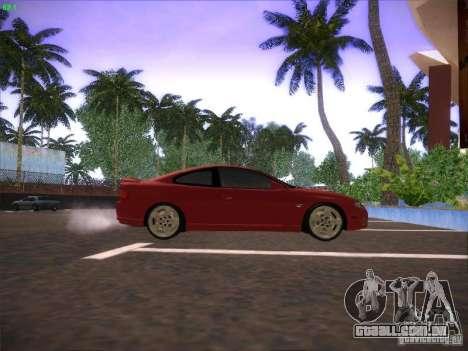 Pontiac FE GTO para GTA San Andreas traseira esquerda vista